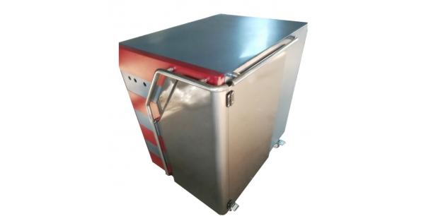 Sheet metal power cabinet