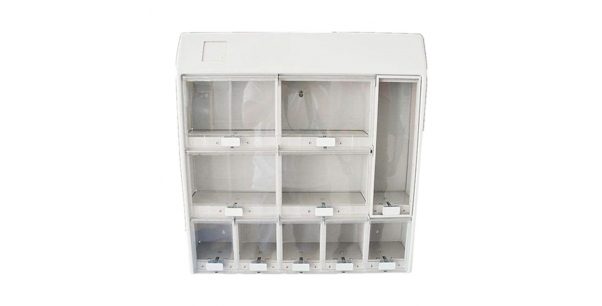 10 compartment small sales sheet metal